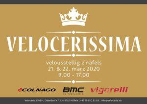velocerissima logo mit text hinweis zur veranstaltung